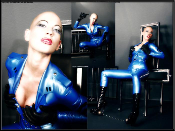 Rubber Blue