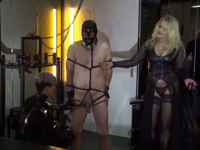 Leckschweine müssen bestraft werden...